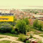 """Услуга Билайн """"Мой межгород"""""""