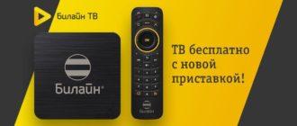 """Приложение """"Билайн ТВ"""""""