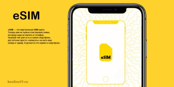 Что такое eSIM Билайн: подробное описание